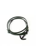 ���㡼�ʥ륹��������� MIANSAI / �ޥ�����: enamel anchor Bracelet / �쥶���֥쥹��å�