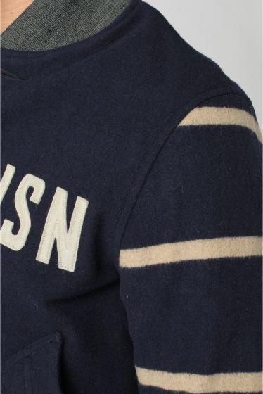 ���㡼�ʥ륹��������� BUZZ RICKSON'S / �Х��ꥯ����: U.S.N FOOTBALL TEAM KNIT / �֥륾�� �ܺٲ���8