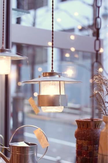 ������ �ե��˥��㡼 CANISTER LAMP 2 TWIST CORD �������� K