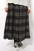 ���㡼�ʥ륹��������� ��å��� ��SOIL�� Wool Stripe culottes