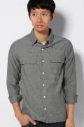 �����ܥ ������ cotton flannel shirt