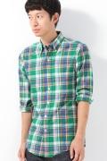 ���㡼�ʥ륹��������� RATIO CLOTHING GREENPORT MADRAS CHECK B.