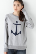 ���㡼�ʥ륹��������� ��å��� ��SAVE KHAKI ��Sweat (Anchor.print)��