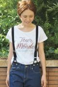 ������ ���?�� TOUR DE MONDE S/S TEE