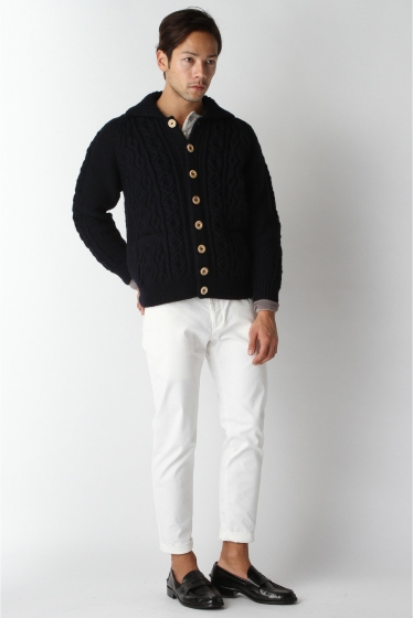 ���㡼�ʥ륹��������� ���塼�� INVERALLAN / ����С������: Lamber Cardigan with Collar / �˥åȥ����ǥ����� �ܺٲ���1