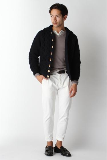 ���㡼�ʥ륹��������� ���塼�� INVERALLAN / ����С������: Lamber Cardigan with Collar / �˥åȥ����ǥ����� �ܺٲ���11