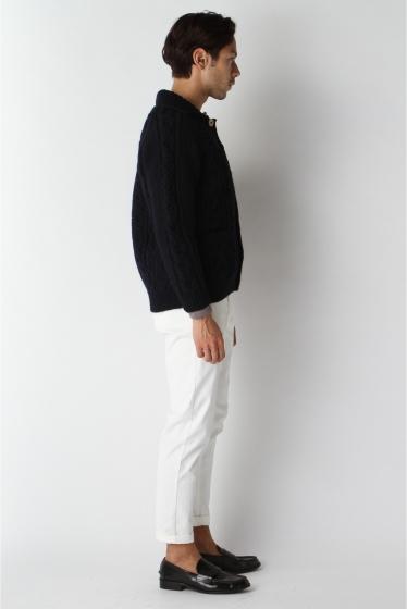 ���㡼�ʥ륹��������� ���塼�� INVERALLAN / ����С������: Lamber Cardigan with Collar / �˥åȥ����ǥ����� �ܺٲ���2