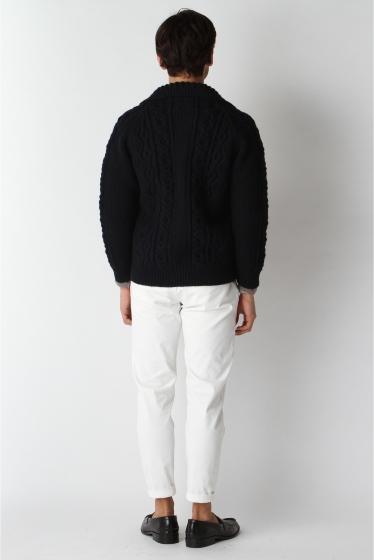 ���㡼�ʥ륹��������� ���塼�� INVERALLAN / ����С������: Lamber Cardigan with Collar / �˥åȥ����ǥ����� �ܺٲ���3