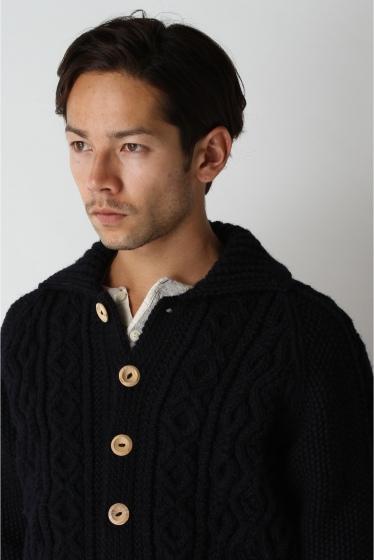 ���㡼�ʥ륹��������� ���塼�� INVERALLAN / ����С������: Lamber Cardigan with Collar / �˥åȥ����ǥ����� �ܺٲ���4