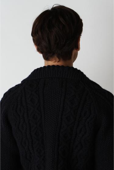 ���㡼�ʥ륹��������� ���塼�� INVERALLAN / ����С������: Lamber Cardigan with Collar / �˥åȥ����ǥ����� �ܺٲ���5