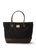 ���㡼�ʥ륹��������� WILL LEATHER GOODS / ������쥶�����å�: Utility Tote Black / �ȡ��ȥХå�