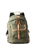 ���㡼�ʥ륹��������� WILL LEATHER GOODS / ������쥶�����å�: Wax Coated Canvas Backpack