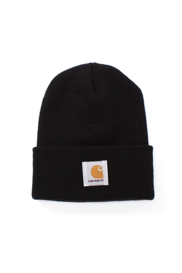 ���㡼�ʥ륹��������� ���塼�� ��Carhartt WIP/�����ϡ��ȥ������ץ?�쥹��ACRYLIC WATCH HAT���˥åȥ���å� �֥�å�