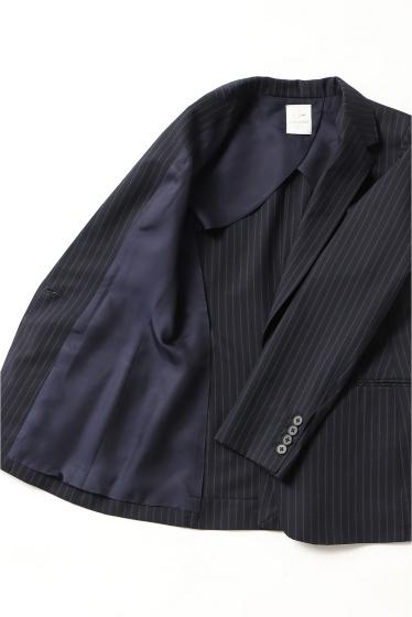 ◆ウールトロストライプ IBジャケット