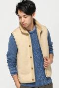 ���㡼�ʥ륹��������� ts(s) /�ƥ�����������:Back Boa Vest / �٥���