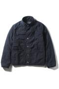 �����֥�������ʥ��ƥå� Quilted Bomber Jacket #
