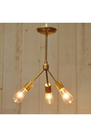 ������ �ե��˥��㡼 SOLID BRASS LAMP 3ARM 45 �ܺٲ���1