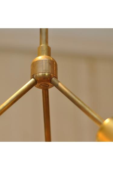 ������ �ե��˥��㡼 SOLID BRASS LAMP 3ARM 45 �ܺٲ���2