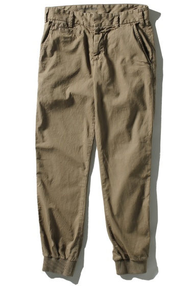 �����֥�������ʥ��ƥå� Twill Trouser W/Rib �١�����