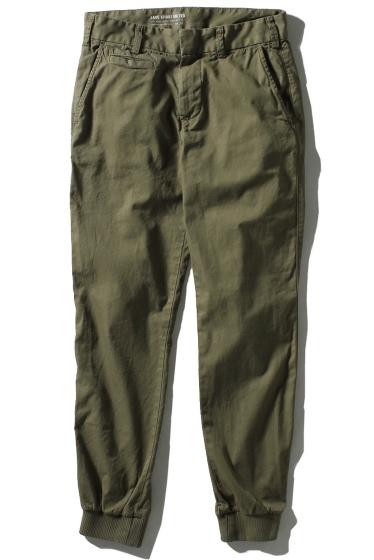�����֥�������ʥ��ƥå� Twill Trouser W/Rib ������ A