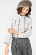 ���ԥå������ѥ� TRADE MARK StripeTieShirts