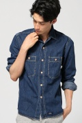 ���㡼�ʥ륹��������� BLEU DE PANAME / �֥롼�ɥ��ѥʥ�:CHEMISE DOUBLE POCHES / �����