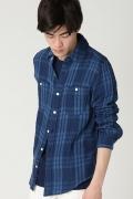 ���㡼�ʥ륹��������� FAHERTY BRAND / �ե���ƥ��֥���: Belmar Work Shirt / �����