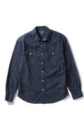 �����֥�������ʥ��ƥå� Poplin Western Shirt