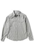 �����֥�������ʥ��ƥå� Melange Flannnel Work Shirt