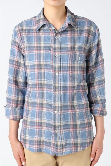 �����֥�������ʥ��ƥå� YARN DYE FLANNEL WORK SHIRT �ܺٲ���12