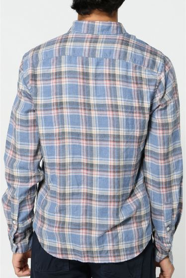 �����֥�������ʥ��ƥå� YARN DYE FLANNEL WORK SHIRT �ܺٲ���4