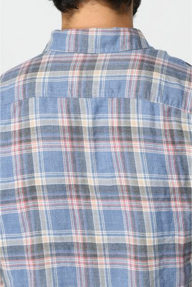 �����֥�������ʥ��ƥå� YARN DYE FLANNEL WORK SHIRT �ܺٲ���6
