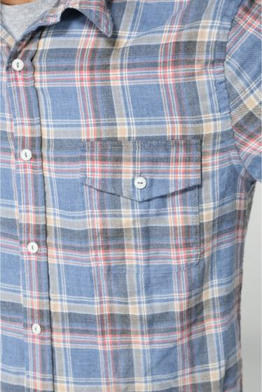 �����֥�������ʥ��ƥå� YARN DYE FLANNEL WORK SHIRT �ܺٲ���7