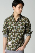 ���㡼�ʥ륹��������� PSYCHO BUNNY / �������Хˡ�: SHIRT WOOD CAMO
