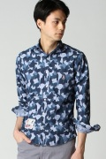 ���㡼�ʥ륹��������� PSYCHO BUNNY / �������Хˡ�: SHIRT SEA CAMO