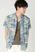 ���㡼�ʥ륹��������� FAHERTY BRAND / �ե���ƥ��֥���: Tahiti Hawaiian Shirt / �����