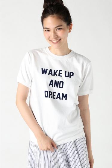 ���㡼�ʥ륹��������� ���塼�� ��Goodwear/���åɥ������� WAKE UP ��� T����� �ۥ磻��