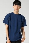 ���㡼�ʥ륹��������� GOOD WEAR / ���åɥ�����:Mock Neck Pocket T-W / T�����