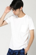 ���㡼�ʥ륹��������� GOOD WEAR Crew Neck PK T Slim