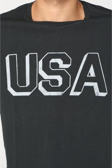 �����֥�������ʥ��ƥå� USA BLOCK PRINT TEE �ܺٲ���8