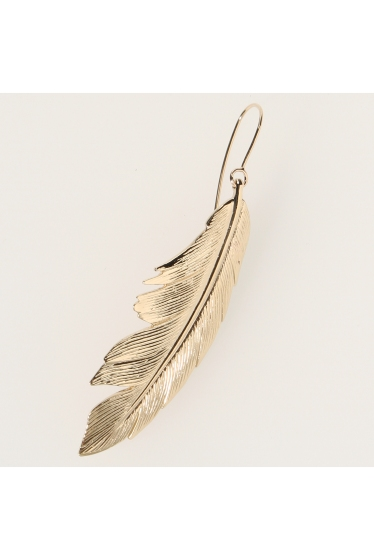 ���ѥ�ȥ�� �ɥ����������� ���饹 MANON VON GERKAN FEATHER BIG EARRING �ܺٲ���1