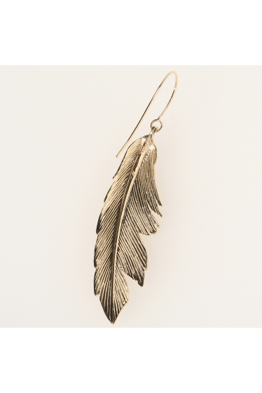 ���ѥ�ȥ�� �ɥ����������� ���饹 MANON VON GERKAN FEATHER BIG EARRING �ܺٲ���2