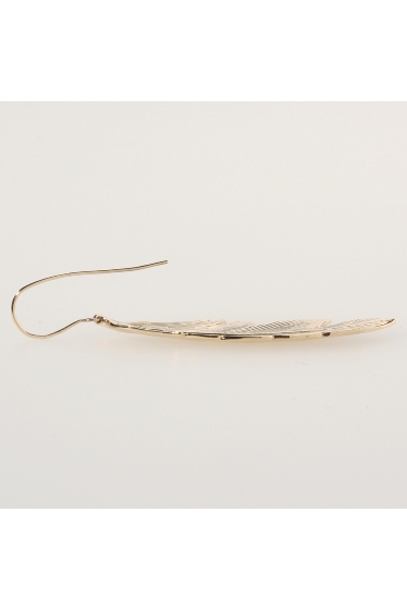 ���ѥ�ȥ�� �ɥ����������� ���饹 MANON VON GERKAN FEATHER BIG EARRING �ܺٲ���4