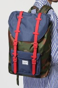 ���㡼�ʥ륹��������� HERSCHEL / �ϡ�������:LITTLE AMERICA MID / �Хå��ѥå�