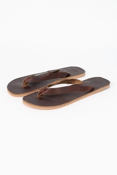 ���ǥ��ե��� ��LECHOPPE��W MATILDA indian sandal �֥饦��