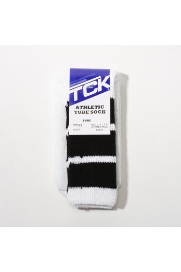 ���㡼�ʥ륹��������� ���塼�� TWIN CITY KNITTING / �� �ĥ��ƥ��˥åƥ��� : Athentic tube sock �֥�å�