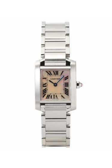 �ҥ�� CARTIER Tank Francase SS pink united �ܺٲ���1