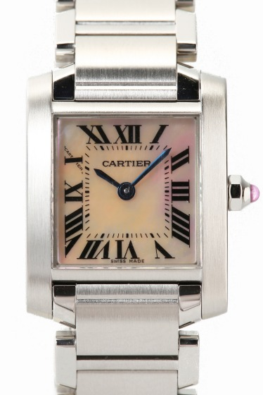 �ҥ�� CARTIER Tank Francase SS pink united ����С�