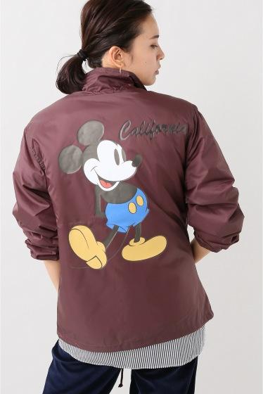 ���㡼�ʥ륹��������� ��JACKSON MATISSE�� Micky Mouse Coach Jacket �ԥ� B