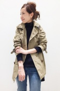 ���ѥ�ȥ�� �ɥ����������� ���饹 OLMETEX SHORT TRENCH��